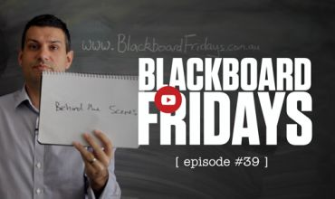 How do we film Blackboard Fridays every week?