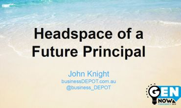 Headspace of a future real estate principal