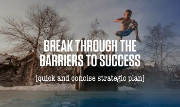 Break through the barriers to success