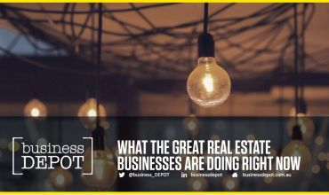 Presentation: What Great Real Estate Businesses Are Doing Now