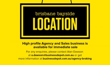 SALES BUSINESS AND AGENCY - Brisbane Bayside Location
