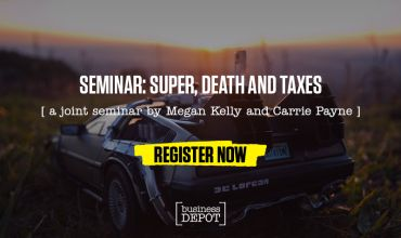 SEMINAR: Super, Death and Taxes