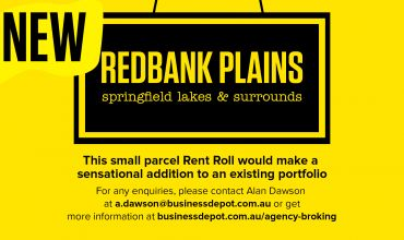 Rent Roll Only – Redbank Plains, Springfield Lakes and Surrounds