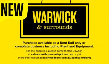 Rent Roll and Sales Agency – Warwick and Surrounds