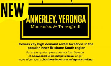 Rent Roll Only – Annerley, Yeronga, Moorooka and Tarragindi.
