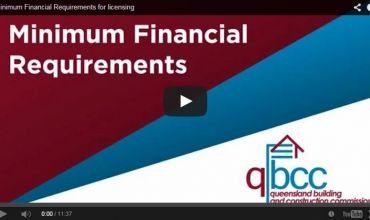 [VIDEO]  QBCC Minimum Financial Requirements