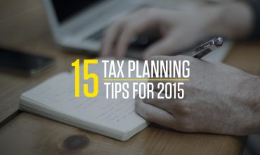 15 Tax Planning Tips for 2015